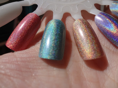 Pupa Taupe, Pupa Emerald, Pupa Strawberry