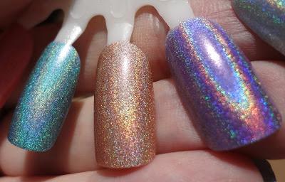 Pupa Emerald, Pupa Taupe, Layla Ultra Violet