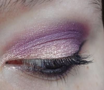 make up rosa viola