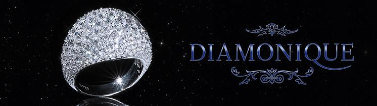 QVC gioielli diamonique anelli