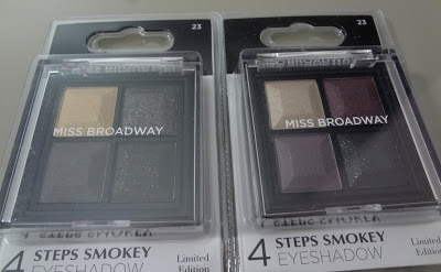 Palette Gold e Palette Mauve - 4 steps Smokey Eyeshadows by Miss Broadway