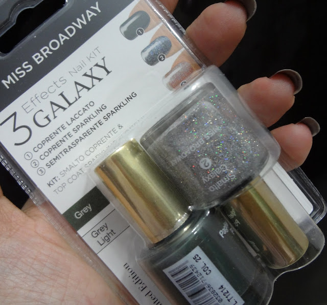 Nail Galaxy Kit Grey e Gray Light