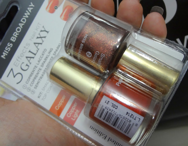 Nail Galaxy Kit Copper e copper light - smalti Miss Broadway