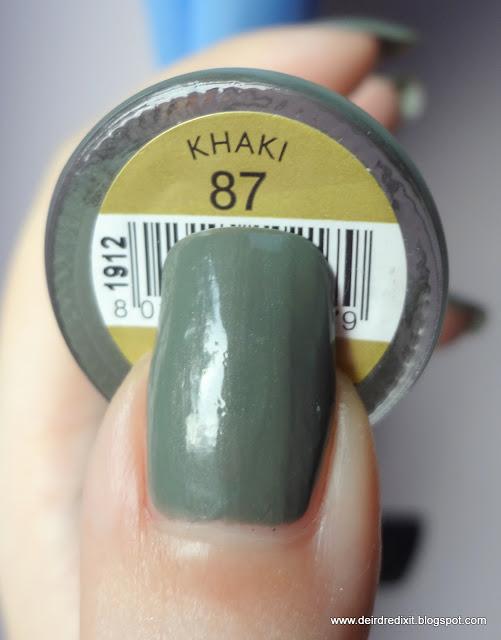 Collistar collezione Milano: smalto nr 87 Khaki