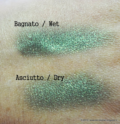 L'Oréal Ombretto Color Infaillible in Emerald Lame