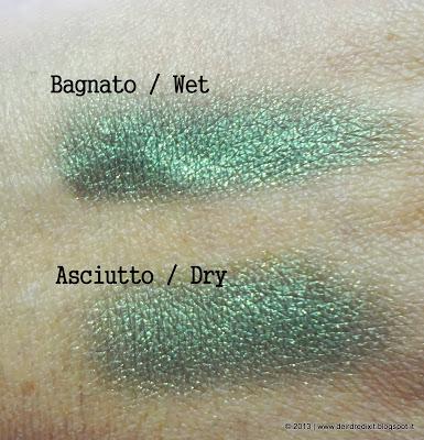 L'Oréal Ombretto Color Infaillible in Emerald Lame