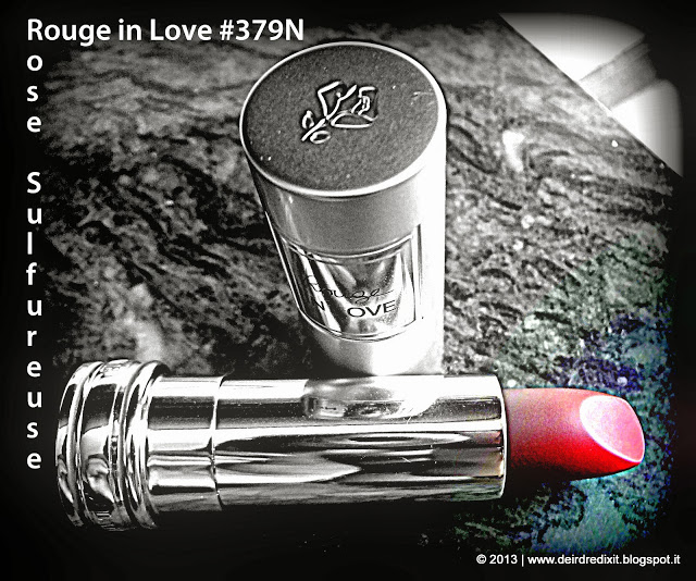 Lancôme Rouge in Love 379N Rose Sulfureuse