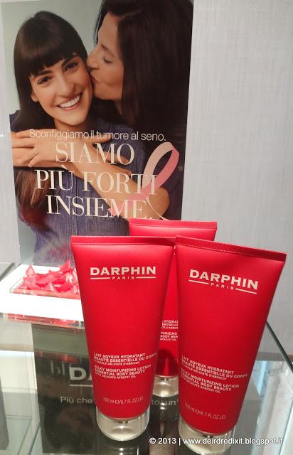 Darphin e la campagna LILT