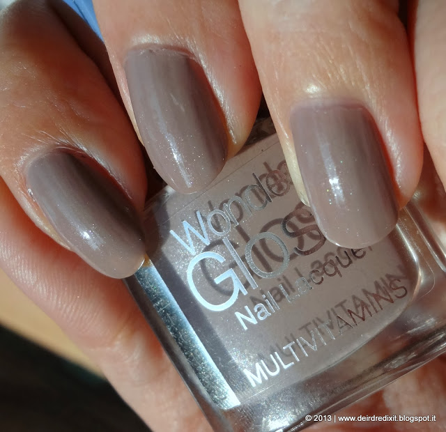 Swatch smalto Wonder Gloss nr 11 Zoom di Prestige Cosmetics