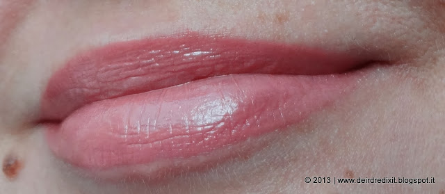 Swatch Lip Lacquer Vinyl Rose - Pure Color High Intensity by Estée Lauder