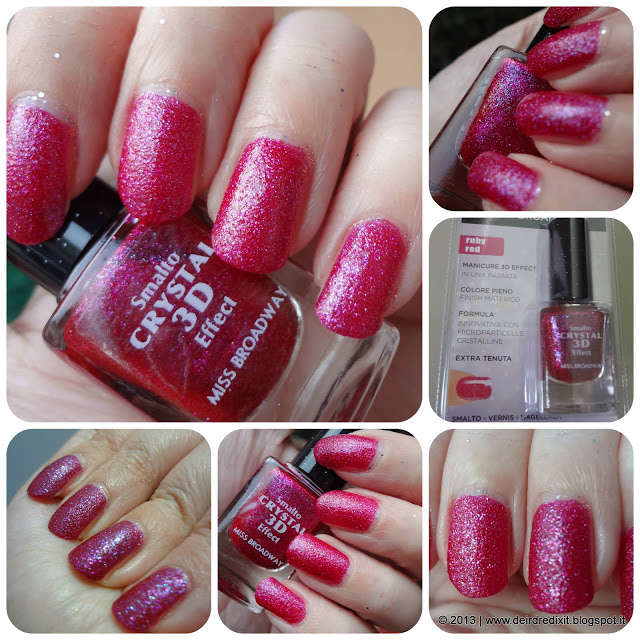 Swatch Ruby Red Smalto Crystal 3D Effect