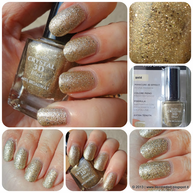 Swatch Smalto Gold Crystal 3D Effect