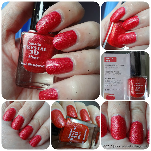 Swatch Merry Red Smalto Crystal 3D Effect