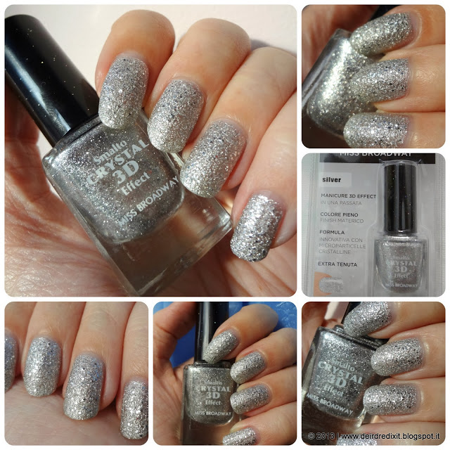 Swatch Smalto Silver Crystal 3D Effect