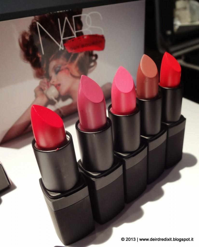 Lipstick Guy Bourdin collection Nars