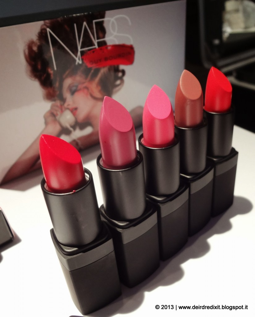 Lipstick Guy Bourdin collection Nars