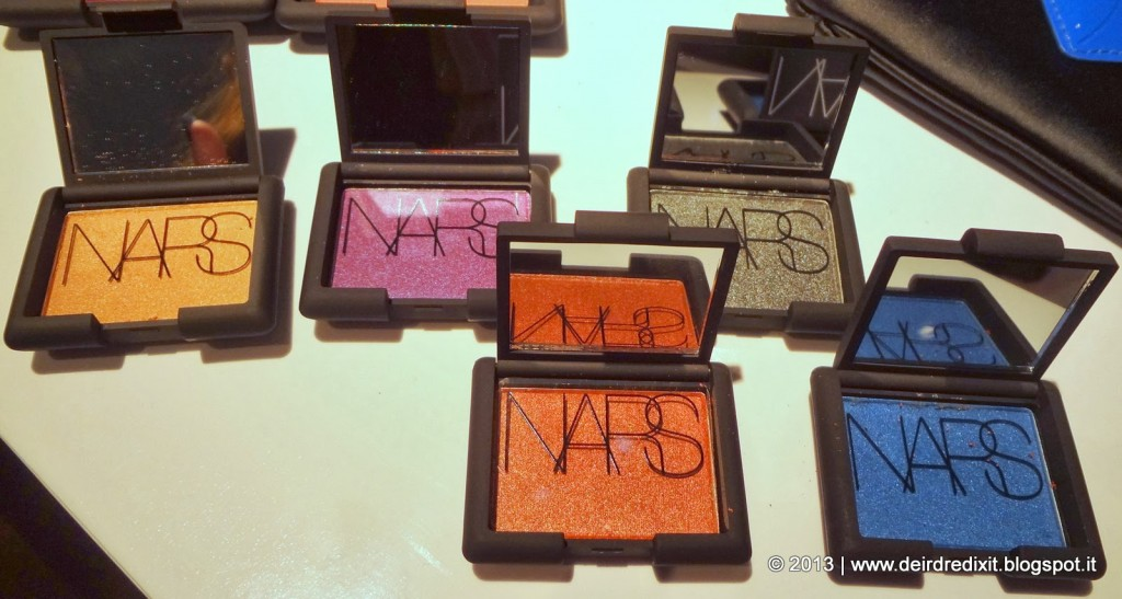 Ombretti Guy Bourdin collection Nars