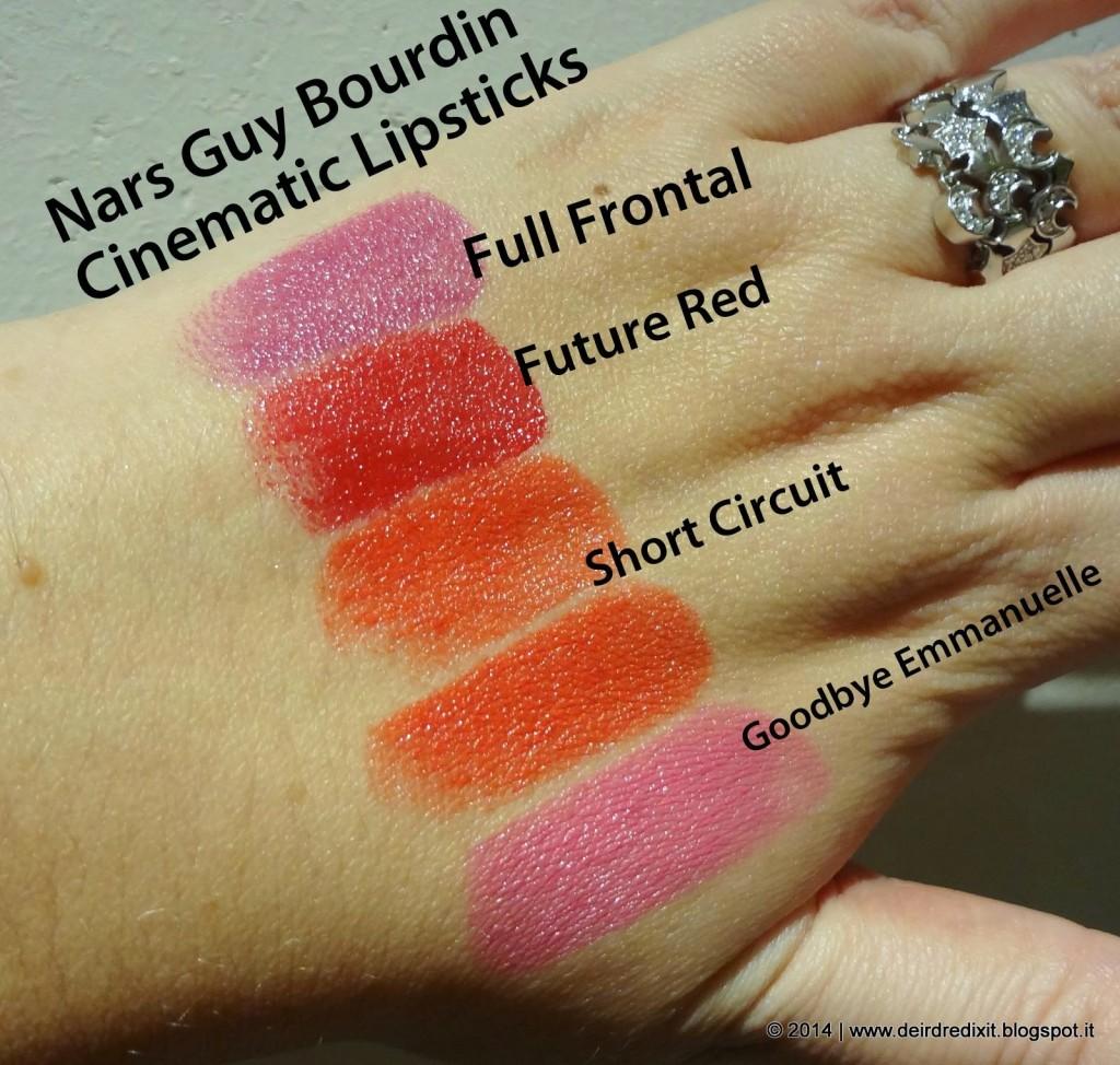 Swatch Guy Bourdin Lipstick