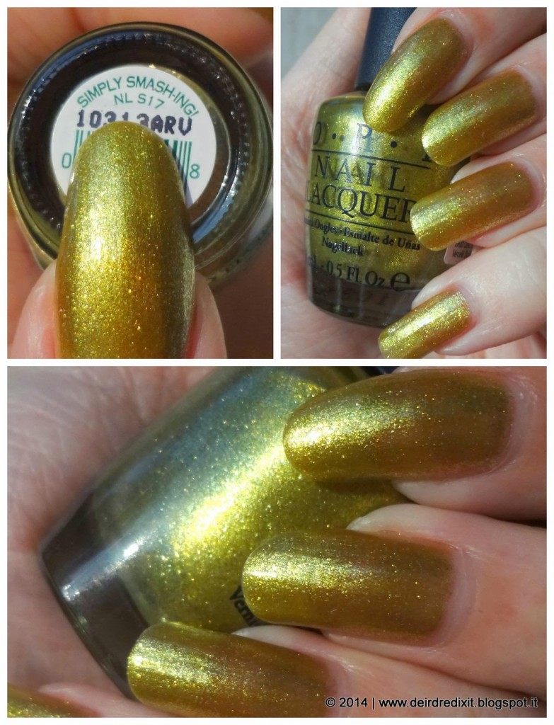 Simply Smash-ing! by Opi - Serena Glam Slam Collection 2011 - Natural light
