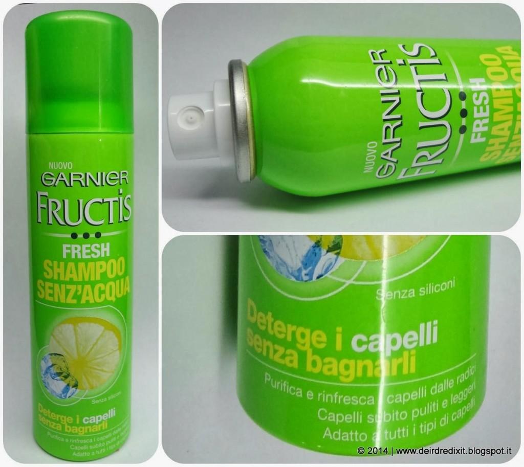 Garnier Fructis Fresh Shampoo senz'acqua