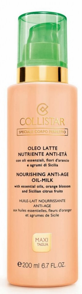 Collistar Oleo Latte nutriente anti età