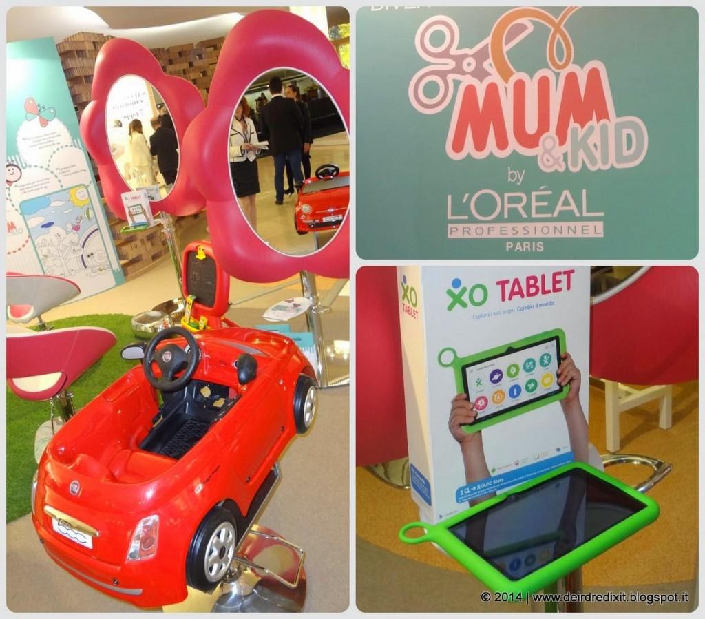 L'Oréal Professionnel concept Mum&Kid