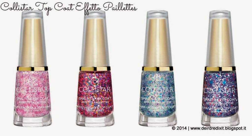 Collistar Smalto&Top Coat Effetto Paillettes