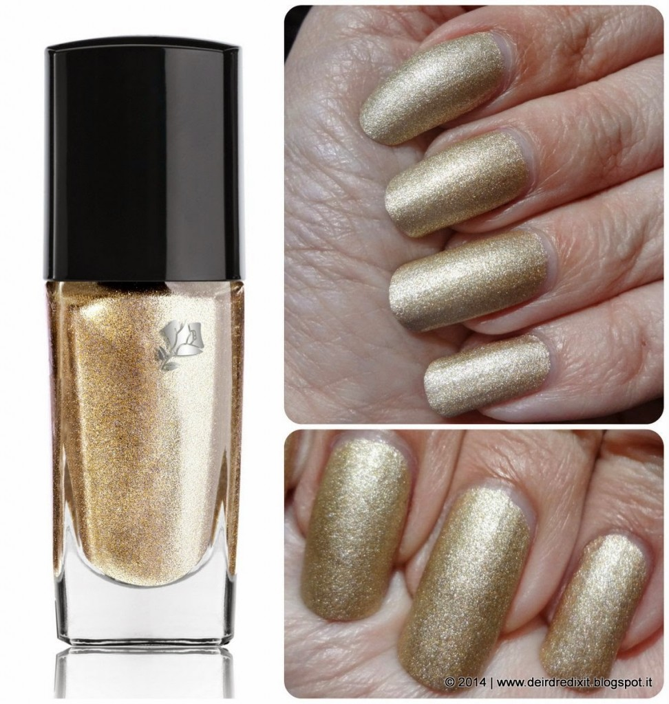 Lancôme Vernis in Love nr 340 Or Citadelle Golden Summer Collection 2014