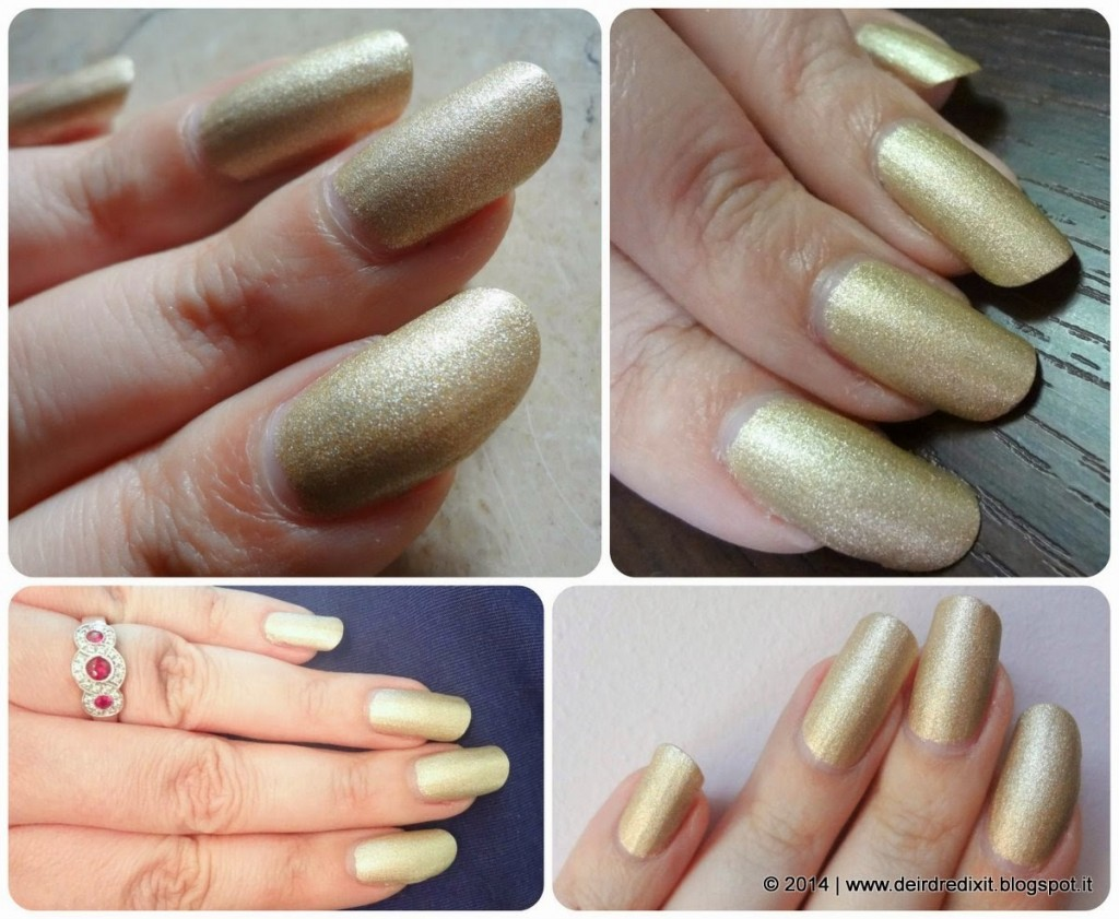 Lancôme Vernis in Love nr 340 Or Citadelle Golden Summer Collection 2014