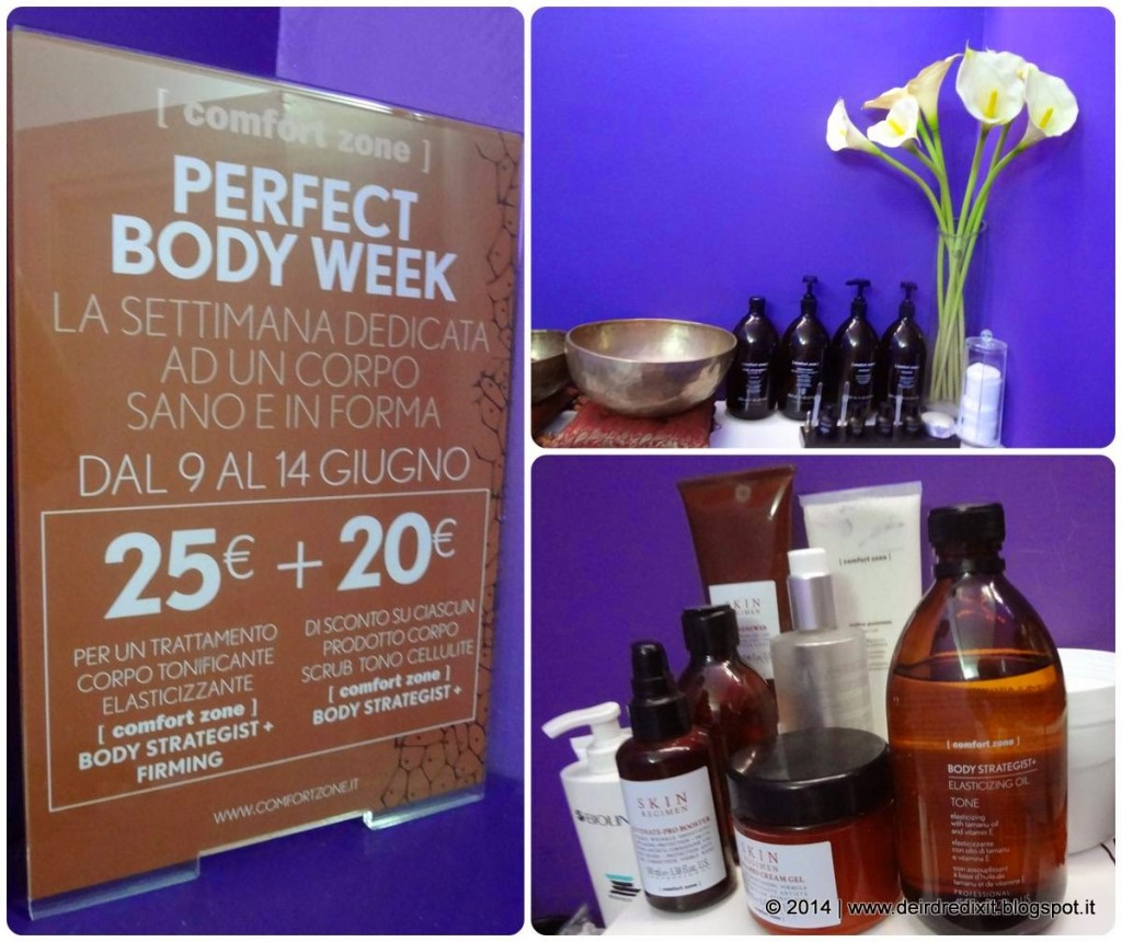 Perfect Body Week con [Comfort Zone]