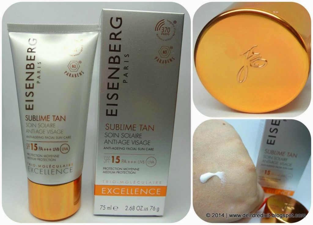 Eisenberg Soin Solaire Anti-age Visage