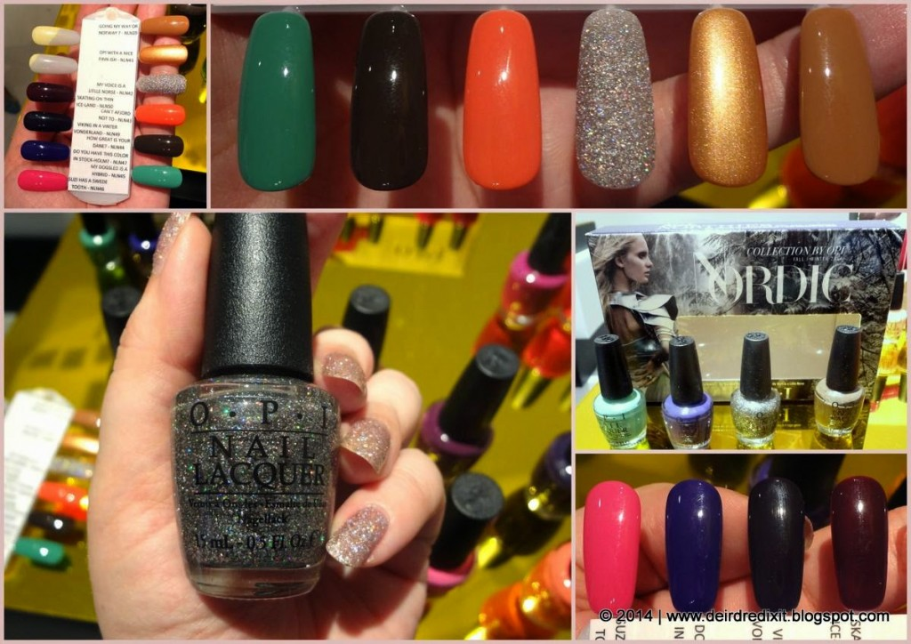 OPI Nordic Collection [swatch]