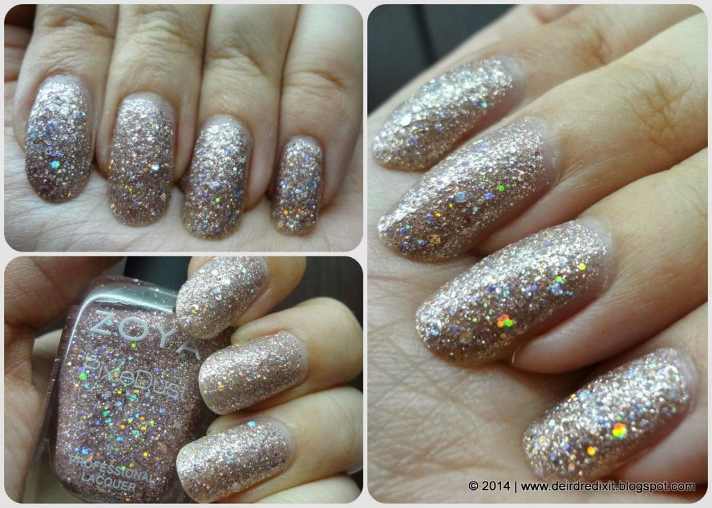 Zoya Magical Pixie Dust in Lux - Spring 2014 - Artificial Lights