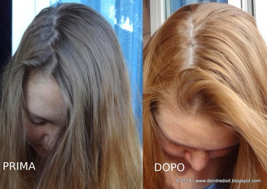 L'Oréal Casting Sunkiss 02: foto dopo 4 applicazioni