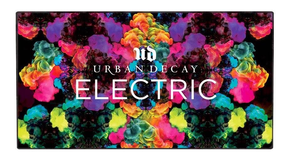 Electric Pressed Pigment Palette di Urban Decay
