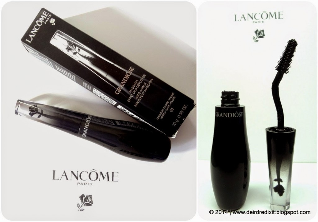 Packaging del nuovo mascara Grandiôse di Lancôme