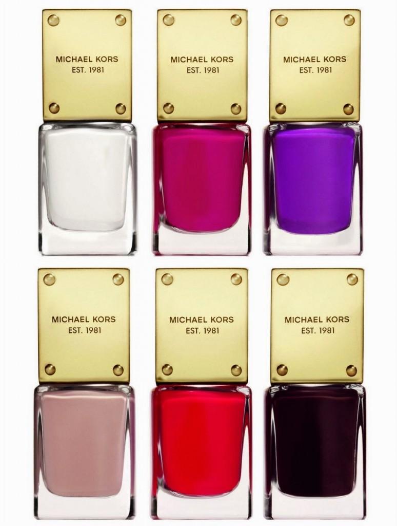 Nail Lacquer Gossip, Scandal, Envy,Hint, Sensation, Desire by Michael Kors