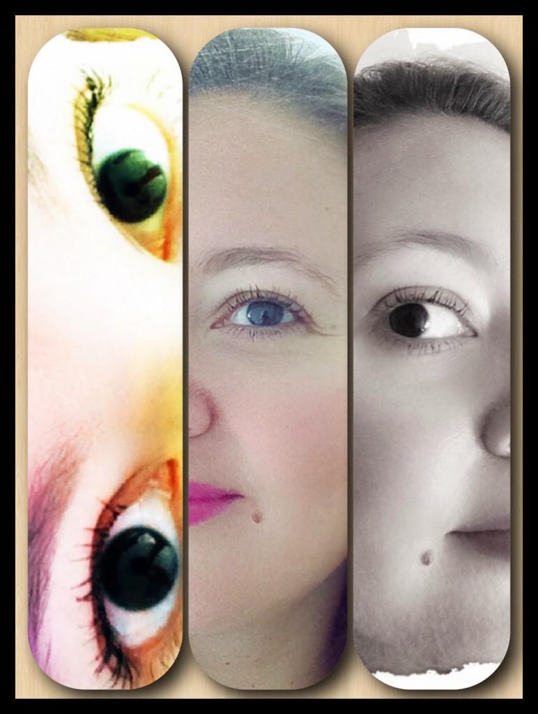 Collage indossando il mascara Grandiôse di Lancôme