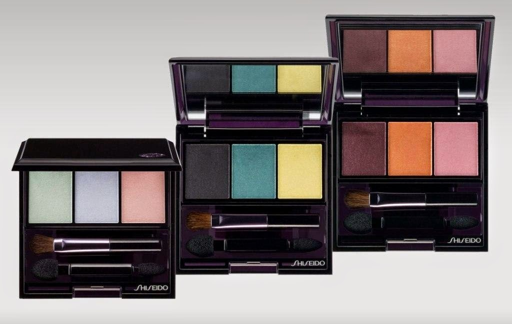 Nuove Palette Shiseido Luminizing Satin Eye Color Trio