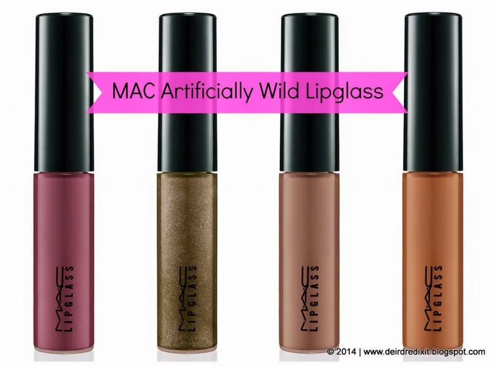 MAC Lipglass Artificially Wild