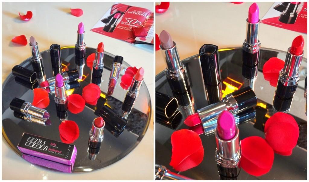 Dettagli dei rossetti Colore Semprevivo Bold Avon