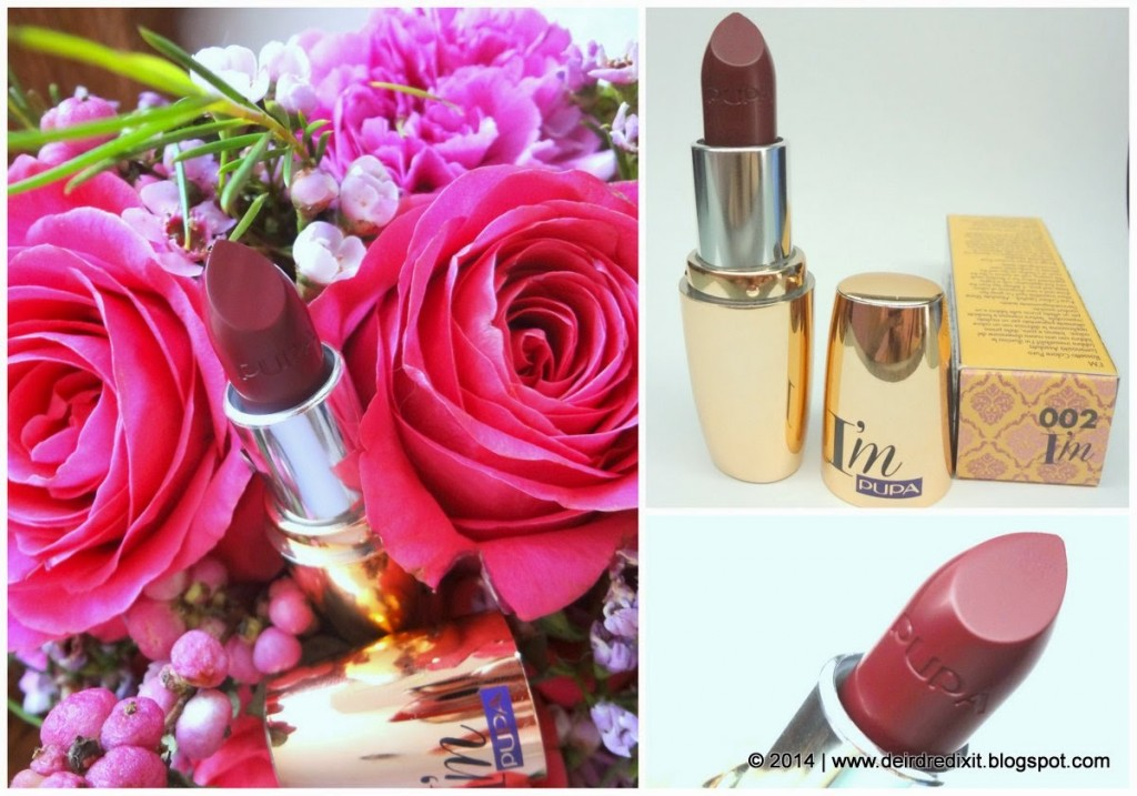 Pupa Paris Experience Rossetto I'M nr. 002 Berry Violet