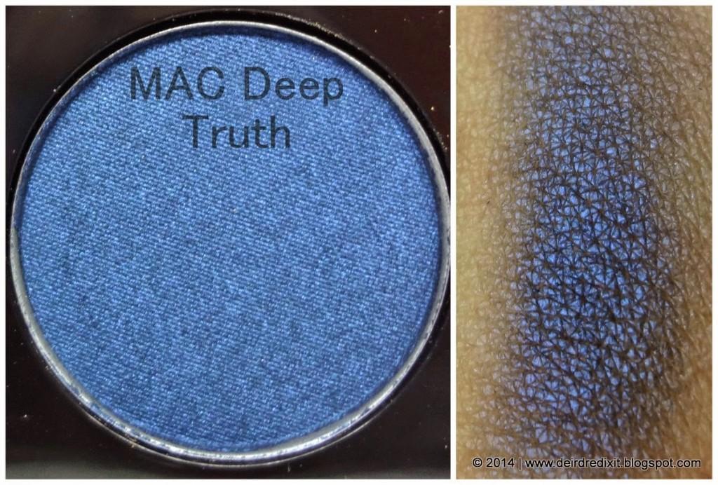 Swatch Mac Deep Truth Eyeshadow
