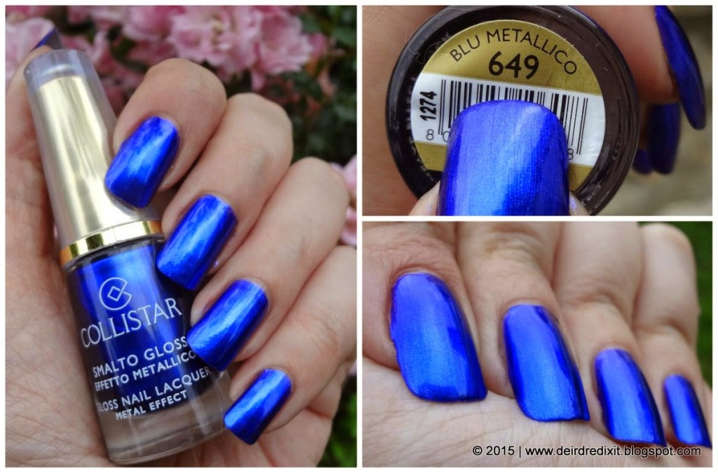 Collistar Smalto Gloss 649 blu metallico