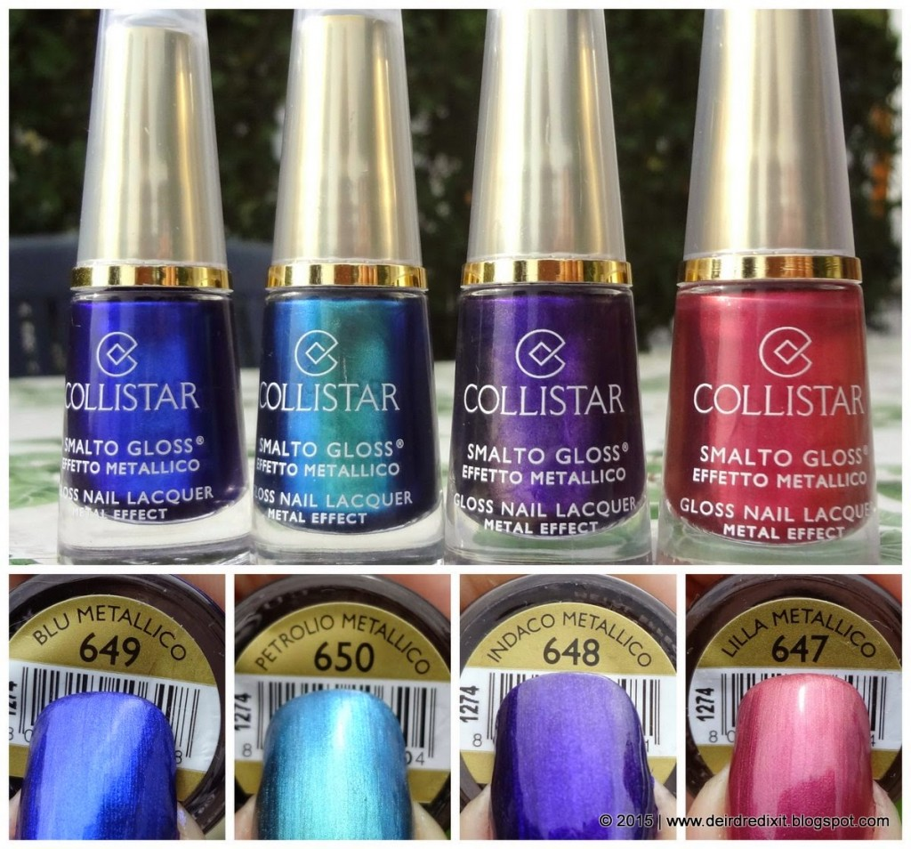 Collistar Smalti Gloss Effetto Metallico
