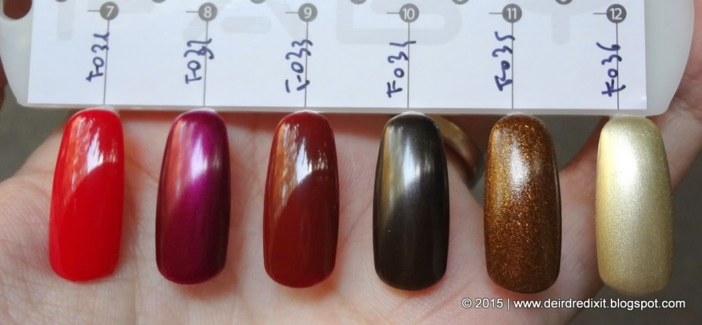 Faby Future Collection swatch