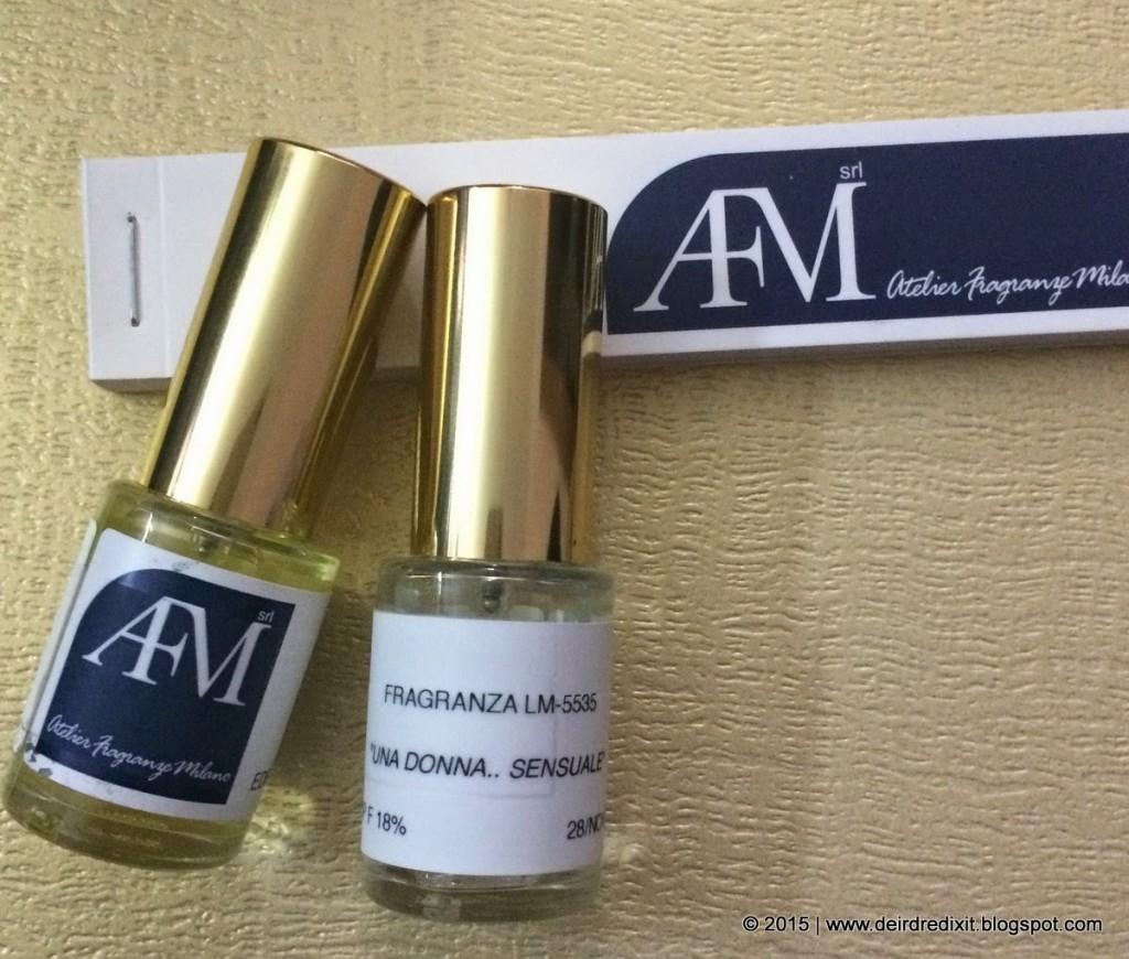 Eau de Parfum create da Luca Maffei