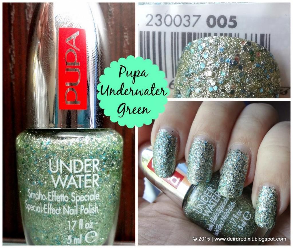 Smalto Pupa Underwater Green nr. 005