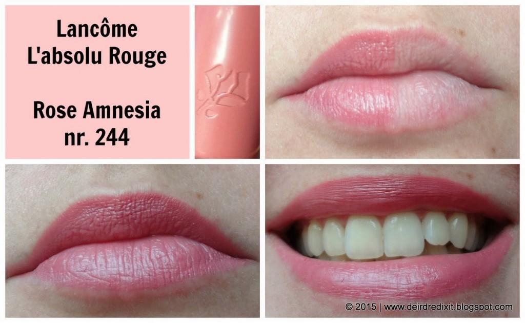 Rossetto Lancôme L' Absolu Rouge, Rose Amnesia 244