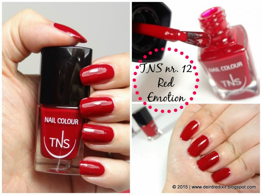 TNS Red Emotion Swatch